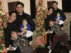 Fawad Khan Celebrates Christmas With His Family! Picture