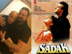 NOSTALGIA! Sanjay Dutt Takes A Walk Down The Memory Lane; Courtesy Sadak