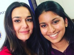 Preity Zinta Bowled Over By Juhi Chawla's Daughter Jahnvi Mehta At The IPL 2018 Auction!