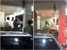 IN PICS! When Mohanlal & Family Visited Mammootty's House!