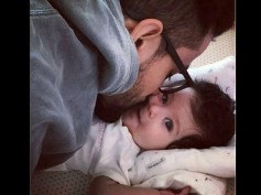 KISS OF LOVE! This Pic Of Kunal Kemmu Giving A Peck On Daughter Inaaya Naumi's Cheek Is Too Cute
