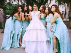 NEW PICS: Surveen Chawla's Secret Marriage! Rubina Dilaik & Keerti Kelkar Turn Surveen's Bridesmaids