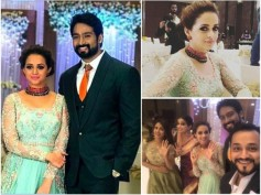 IN PICS! Bhavana And Naveen Organize A Grand Post-Wedding Reception In Bangalore!