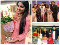 Naamkaran: Sayantani Ghosh Gets Emotional At Her Farewell Party; Shares Good Old Memories (PICS)