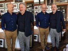Hollywood Legend Robert De Niro Throws A Surprise Birthday Dinner For Anupam Kher!