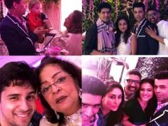 INSIDE PICS! Kajol, Rani Mukherji, Kareena Kapoor Have A Blast At KJo's Birthday Bash For Mom Hiroo