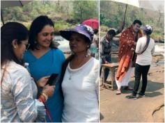 Odiyan: Mohanlal & Manju Warrier Shoot For A Song Sequence!