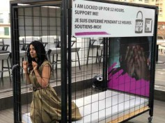 Cannes 2018: Mallika Sherawat LOCKS Herself In A Cage, We Know The Reason Why!