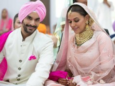 BREAKING! Neha Dhupia Gets MARRIED To Salman's Co-star Angad Bedi In A Secret Ceremony [PICTURES]
