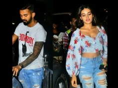 Nidhhi Agerwal Spotted On A Dinner Date With Cricketer KL Rahul, Is Romance On The Cards?