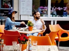 Kareena Kapoor & Saif Ali Khan Spotted Strolling The Streets Of London With Taimur [PICTURES]