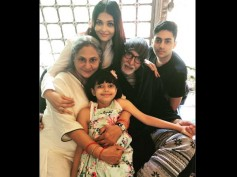 Aishwarya Rai Bachchan RUBBISHES Family Fight Rumours; Shares A WOW PIC With Jaya & Amitabh Bachchan