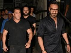 Rare Sighting! Ajay Devgn Attends Salman Khan's Race 3 Screening