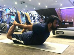International Yoga Day: Mohanlal Strikes A Yoga Pose That Is Sure To Motivate You All
