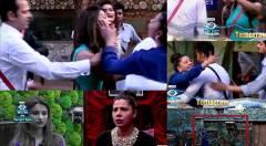 SHOCKER! Sambhavana Slapped Dimpy Mahajan On Bigg Boss 8! [PHOTOS]