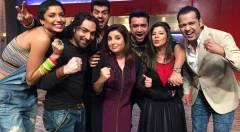 Bigg Boss 8 Contestants Diandra, Preetam, Rahul, Others In Farah Khan Ki Daawat!
