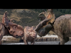 pachyrhinosaurus vs gorgosaurus toy  Walking With Dinosaurs Mo...