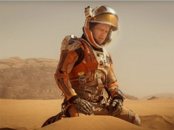 The Martian Movie Review Matt Damon Ridley Scott Space Film