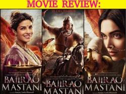 Bajirao Mastani Movie Review Ranveer Singh Deepika Padukone