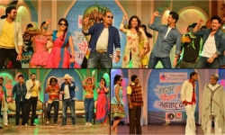 Spotted Team Chala Hawa Yeu Dya In Goa