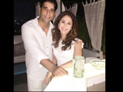 Urmila Matondkar New Pictures Spotted With Hubhby On Dinner Date