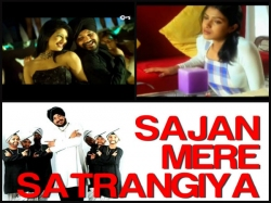 Priyanka Chopra Unseen Music Video With Daler Mehndi Satrangiya