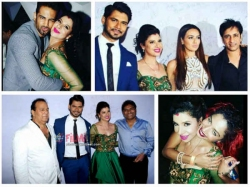 Upen Patel Diandra Others Attend Sambhavna Seth Avinash Reception Pics