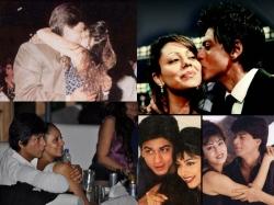 Shahrukh Khan Gauri Khan Romantic Pictures King Of Romance Real Life