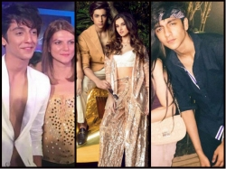Ahaan Pandayy Pictures Chunky Pander Nephew Aryan Khan Competitor