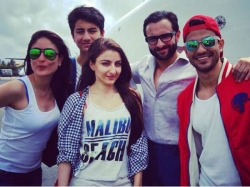 Pictures Of Soha Ali Khan With Kareena Kapoor And Saif Ali Khan