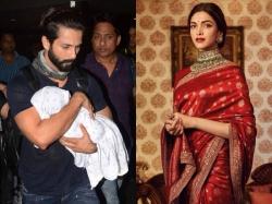 Deepika Padukone Met Shahid Kapoor S Baby Misha On Padmavati Sets