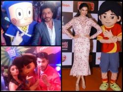 Deepika Padukone Shahrukh Khan At Nickelodeon Kids Choice Awards 2016 Pics