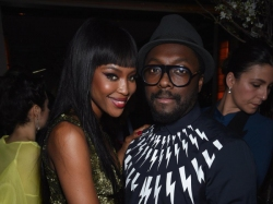 Will I Am Calls Naomi Campbell The Queen Of Fashion