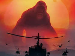 Movie Review Kong Skull Island Goes Visually Retro Dipped In High Entertainment Quotient