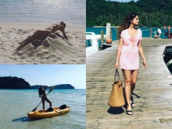 Nargis Fakhri Hits The Beach All Over Again View Pics