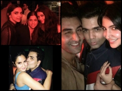 Ranbir Kapoor Ditches Deepika Padukone For Katrina Kaif At Karan Johar Birthday Bash New Inside Pics