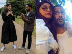 Sonam Kapoor And Anand Ahuja In New York City