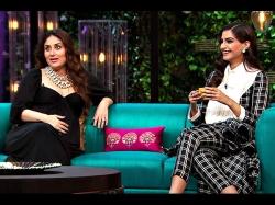 Kareena Kapoor Khan Pulls Sonam Kapoor S Legs Over Her Fashionista Image Veere Di Wedding