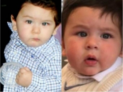So Cute 10 Adorable Pictures Of Cotton Candy Taimur Ali Khan