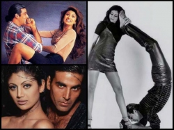 This Weird Photoshoot Of Ex Lovers Akshay Kumar Shilpa Shetty Will Make You Cringe Unseen Picture