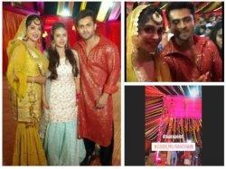 Dipika Kakar Shoaib Ibrahim Glow With Happiness All Set For Sangeet Ceremony Inside Pics