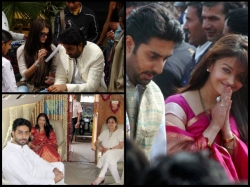 Aishwarya Rai Abhishek Bachchan Flaunting Their Love Unseen Pics From Initial Years Of Marriage