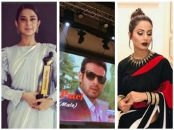 Jennifer Winget Hina Khan Karan Patel Tv Actors Bag Dadasaheb Phalke Excellence Awards 2018 Pics