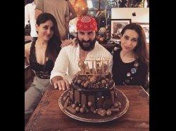 Saif Ali Khan Birthday Bash Kareena Kapoor Khan Sara Ali Khan And Others Make It A Memorable One
