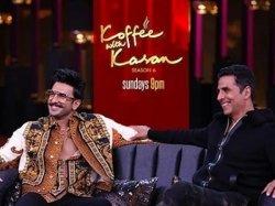 Koffee With Karan 6 Ranveer Singh Tells Akshay Kumar To Keep His Outfit Ready For The Wedding
