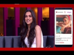 Koffee With Karan 6 Review Karan Johar Trolls Deepika Ranveer For Their Instagram Romance