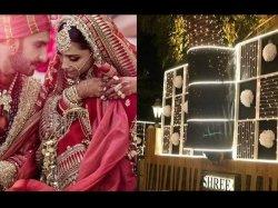 New Bride Deepika Padukone Will Be Surprised Pics Of Ranveer Singh Beautfully Lit House Out