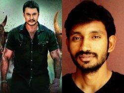 Yajamana First Track Shivanandi Talks About Darshan In Real Life Says Lyricist Chethan