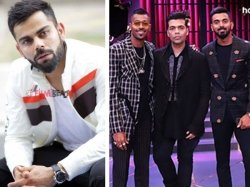 Kwk Hardik Rahul Controversy Virat Kohli Team Dont Support Their Views Hotstar Pulls Down Episode