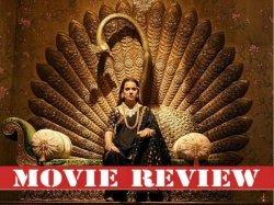 Manikarnika The Queen Of Jhansi Movie Review And Rating Kangana Ranaut